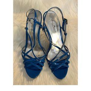 Ann Michelle Strappy sandal heels 👡